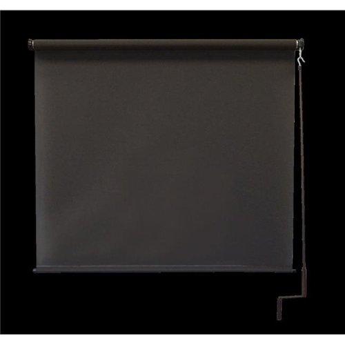 Keystone Fabrics O77.68.90 6 x 8 ft. Regal Cordless Outdoor Sun Shade - Mahogany