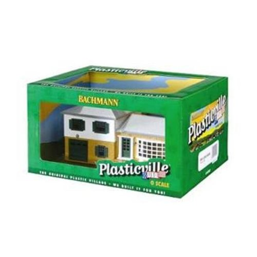 Bachmann Industries Pre Assembled Split Level House Set O Scale