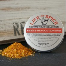Fidel's Revolution Rub - Life of Spice Gourmet Rub (35g) - Cumin, Garlic, Turmeric and Oregano