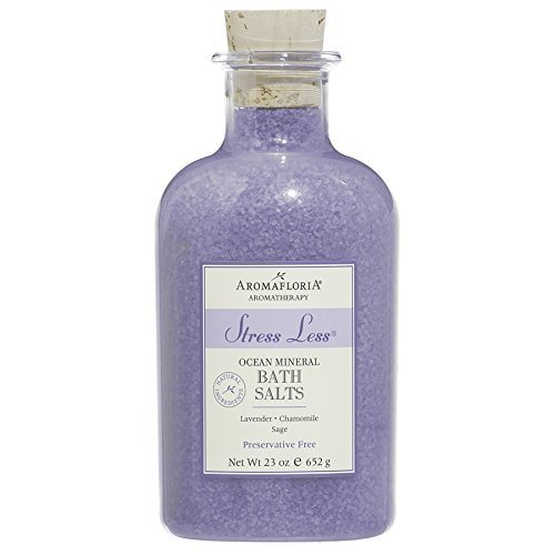 Aromafloria Aromatherapy Collection Stress Less Ocean Mineral Salts Lavender Chamomile Sage 23 0 Ounce
