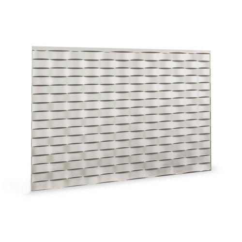 Profhome 3D 705564 Lattice Brushed Nickel Decor panel 3D shiny silver 1,7 m2