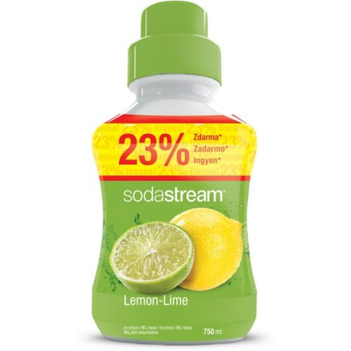 SodaStream Lemon Lime Concentrate Syrup - 750ml