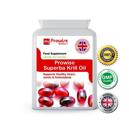 Prowise Superba Krill Oil 60 Capsules 500mg UK Made