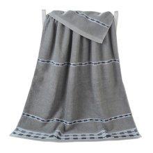 100% Cotton Soft Large Beach Towels 140*70cm, Grey