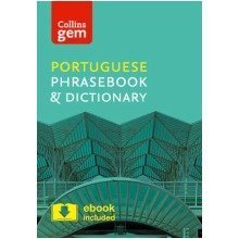Collins Gem: Collins Portuguese Phrasebook and Dictionary Gem Edition: Essential Phrases and Words in a Mini, Travel Sized Format