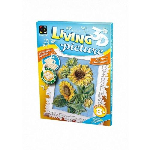 Elf956027 - Fantazer 3d Living Picture - Sunflower