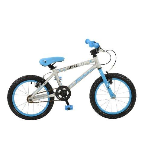 "Falcon Superlite Boys Girls 16"" Wheel Lightweight Alloy Single Speed Bike Cycle"