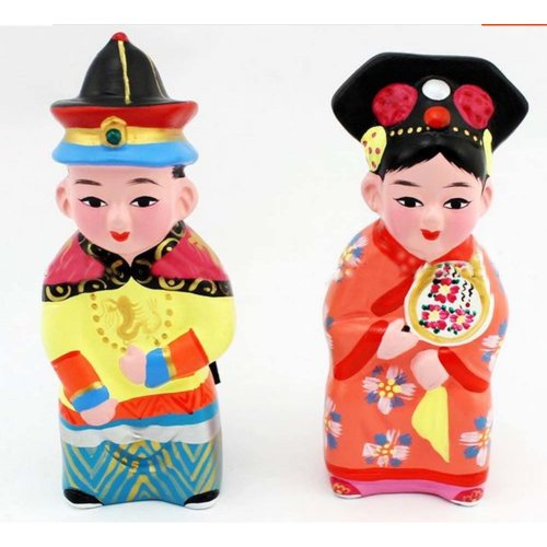 Clay Sculpture Clay Figurines China Style Features Arts and Crafts