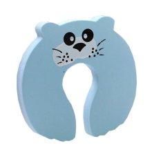 """Set of 5 Lovely Seal Elasticity Door Stop Children Cartoon Door Holder 4*0.5"""""""