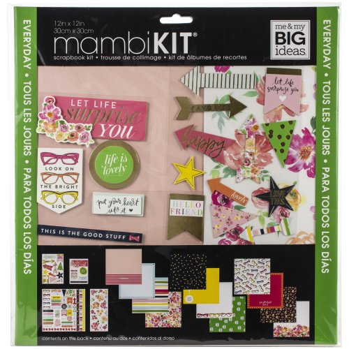 "Me & My Big Ideas Page Kit 12""X12""-Bright Side"
