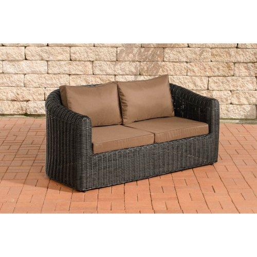 2 seater sofa Bergen Terra Brown 5mm