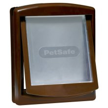 PetSafe 2-Way Pet Door 755 Medium 26.7x22.8 cm Brown 5021