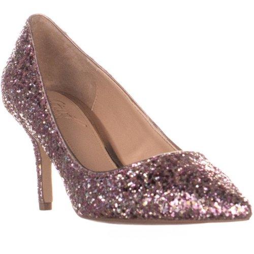 Jewel by Badgley Mischka Lyla Slim Heel Pumps, Rose Gold, 4.5 UK