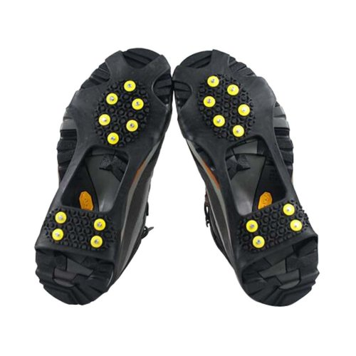 Durable Stretchable 10 Studs Traction Cleats Ice Cleat Prevent Slipping