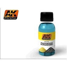 Ak00174 - Ak Interactive 100ml Brass Photoetch Burnishing Fluid