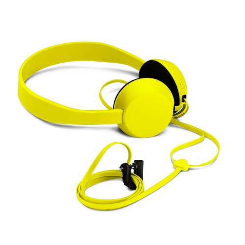Nokia Coloud Knock On-Ear Headphones with Integrated Mic and Tangle-Free Cable Compatible with Smartphones, Tablets and MP3 Devices - Yellow