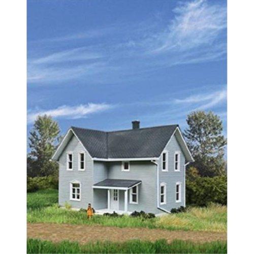 "Walthers, Inc. Tillman Farm House Kit, 3/8"" 11.9 X 10.7 X 11.1cm"