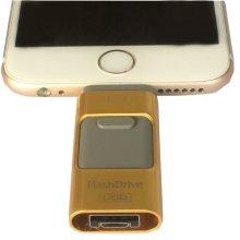 64 GB USB i-Flash iFlash Flash Drive Memory OTG For Ipad Iphone IOS