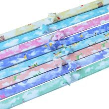 370 Sheets Origami Lucky Star Papers - Beautiful Sky Pattern