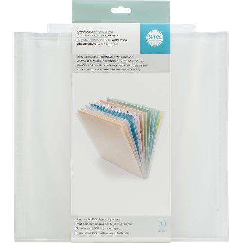 "We R Expandable Paper Storage 12.5""X13""-"