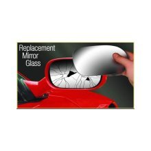 Mirror Glass Replacement - (Blind Spot) OEM Style With Heated Base Plate