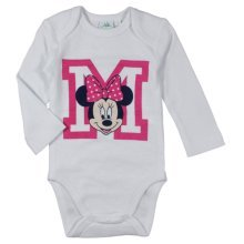 "Minnie Mouse Bodysuit - White ""M"""