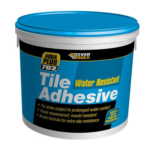 Everbuild 702 Water Resistant Tile Adhesive 5 Litre