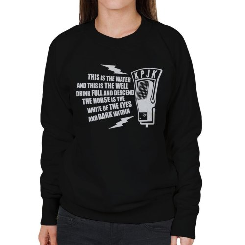 This is The Water Quote Twin Peaks Women's Sweatshirt