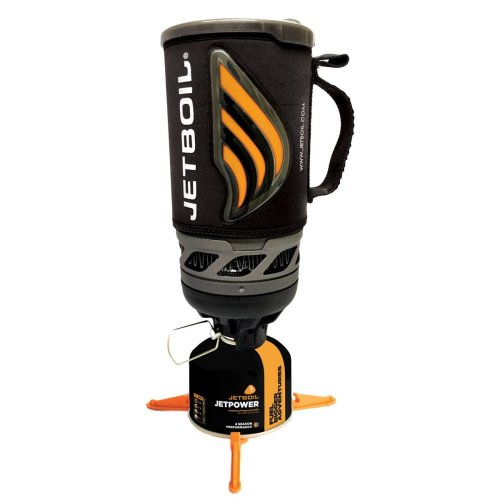 Jetboil New Flash Carbon Personal Cooking System - Carbon Black Version 2
