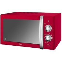 Swan 20 Litre Retro Manual Microwave 800W - Red (Model No. SM22130RN)