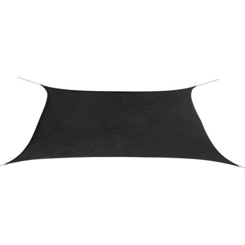 vidaXL Sunshade Sail Oxford Fabric Rectangular 2x4 m Anthracite