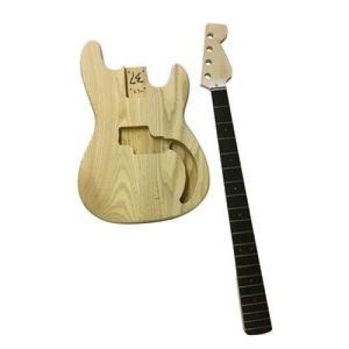 Coban PB Bass Body Electric Guitar DIY Kits GD108  with Ebony Fingerboard