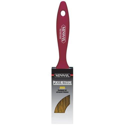 Minwax 1624428 2 in. Flat Black China Bristle Polyurethane Paint Brush