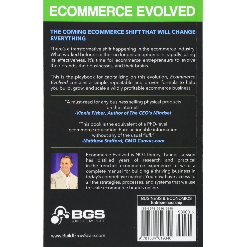 ecommerce evolved the essential playbook to build grow scale a successful ecommerce business
