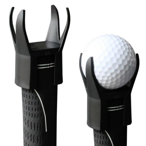 Golf Ball Claw Gripper Ball Retriever Black
