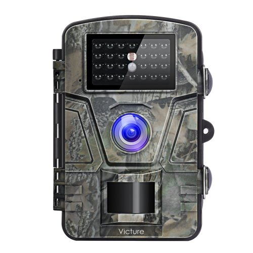 "Victure Wildlife Camera 1080P 12MP Trail Game Camera Motion Activated Night Vision 20m with 2.4"" LCD Display IP66 Waterproof Design for Wildlife..."