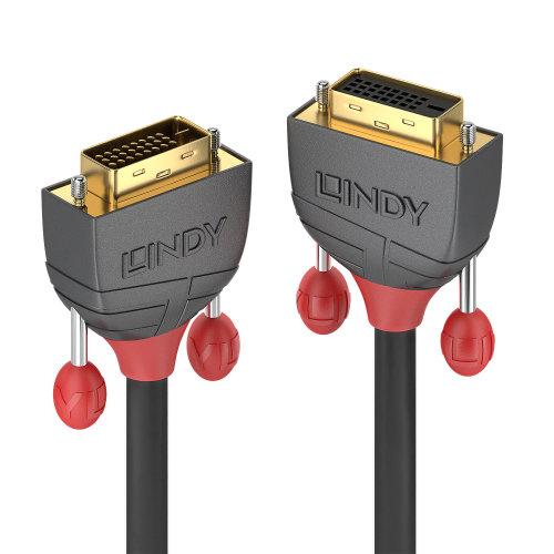 Lindy 36234 DVI cable 5 m DVI-D DVI-I Black