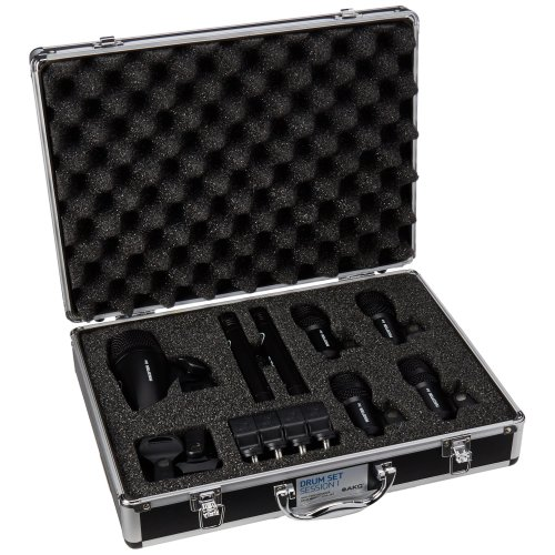 AKG Drum Set Session 1 Drum Microphone Pack