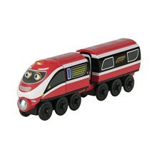 Chuggington Wooden Railway Daley And Delivery Wagon