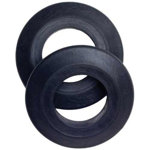 Carlisle Drip Rings, Black, Set of 2