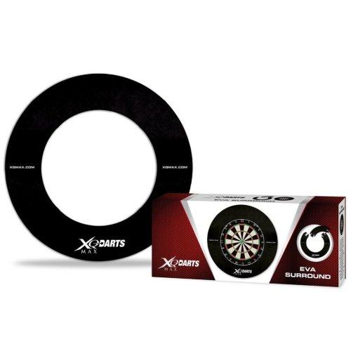 XQmax Darts Target Dartboard Surround Wall Protector Ring EVA Black QD7300410