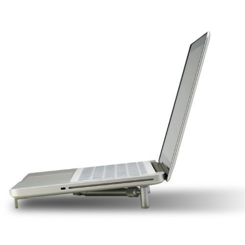 "Ergonomic Aluminium Portable Foldable Cooling X-Stand for 12""-17"" Laptops"