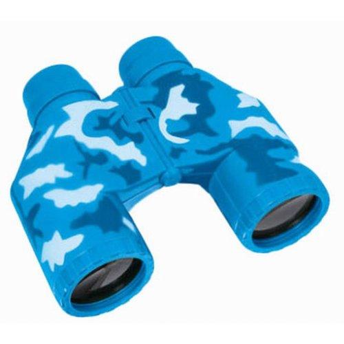 Kids Toy Binocular Telescope Explore Educational Toys, Camouflage Blue