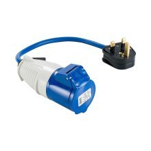 Defender Fly Lead Adaptor (13amp Plug & 16amp Socket 240v)