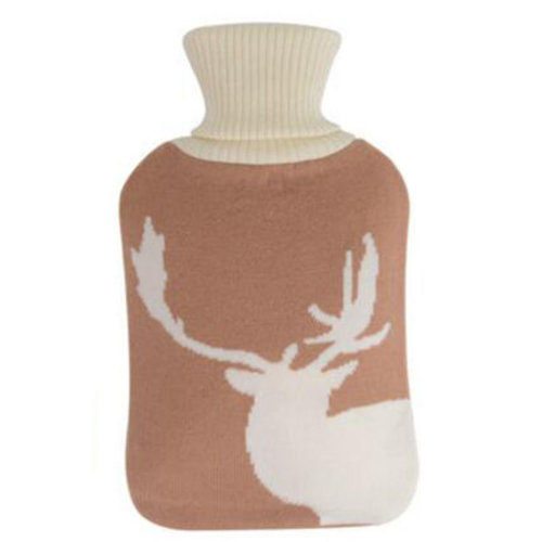 2LWarm Cute Hot-Water Bottle Water Bag Water Injection Handwarmer Pocket Cozy Comfort,F