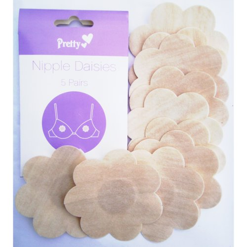 10pc Nipple Daisies | Stick-On Nipple Covers