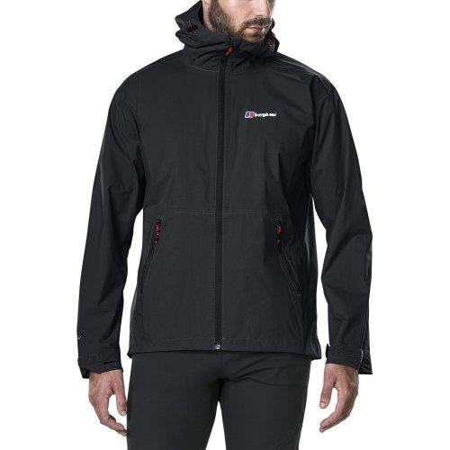 Berghaus Men's Stormcloud Waterproof Jacket - Black, Small