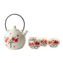 Japanese Style Porcelain Tea Set Tea Service Restaurant Special Decor-A06