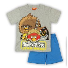 Angry Birds Star Wars Short Pyjamas - Grey