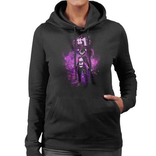 Fortnite Battle Royale Teddy Bear Women's Hooded Sweatshirt
